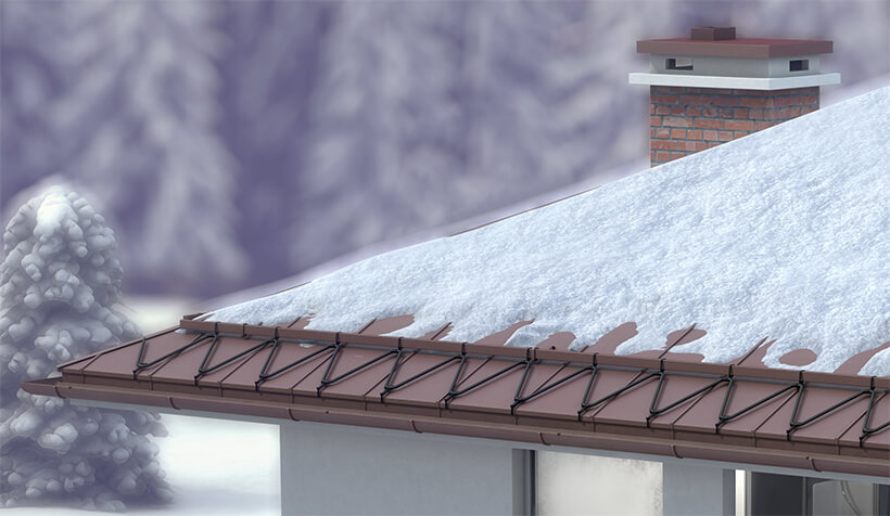 Fűtés tetőkön