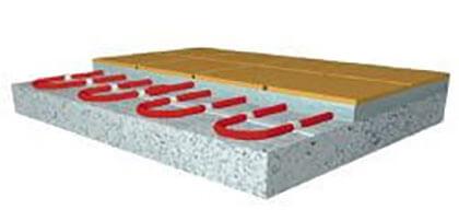 DEVIflex 10T fűtőkábel vékony padlóba